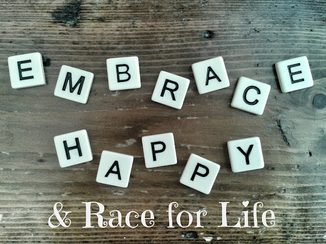 Embrace Happy & Race for Life // 76sunflowers