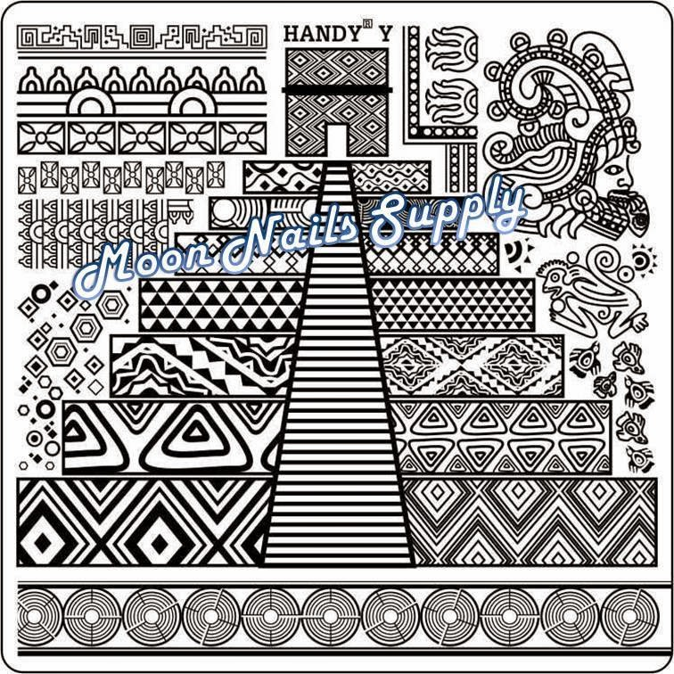 Lacquer Lockdown - Handy Nail Art stamping plates,, nail art stamping blog, nail art stamping , new nail art stamping plates 2014, new nail art image plates 2014, stamping, Pueen, MoYou London, Moon Nails Supply, diy nail art, cute nail art ideas