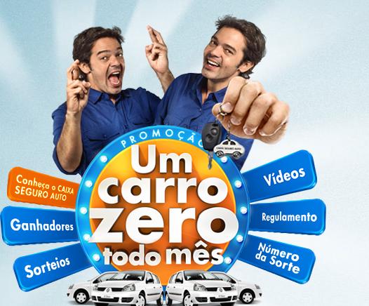 Concorrer um carro zero promoção Caixa Seguros 2014