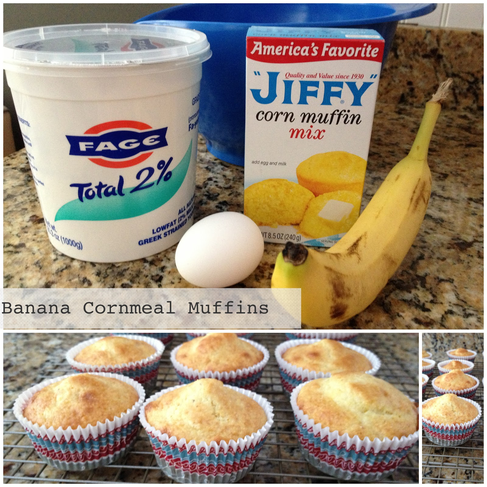 Banana Corn Muffin Recipe — Dishmaps