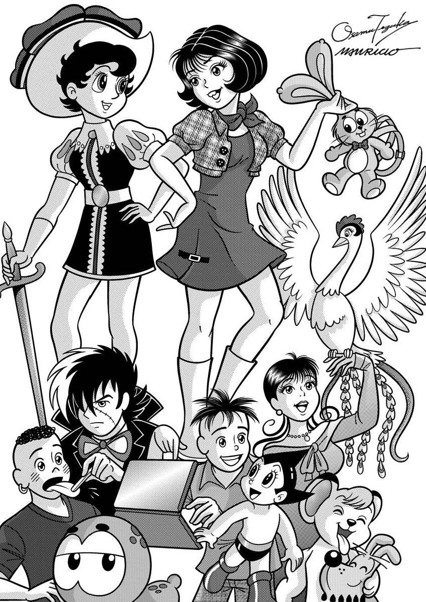 Homenagem à Osamu Tezuka na Turma da Mônica Jovem! Imagem_Tezuka