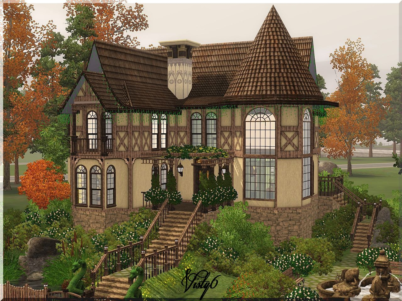 My Sims 3 Blog Victorian House 2 By Visty6