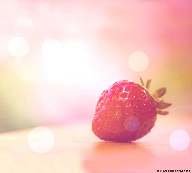pink strawberry sweet wallpaper best hd wallpapers