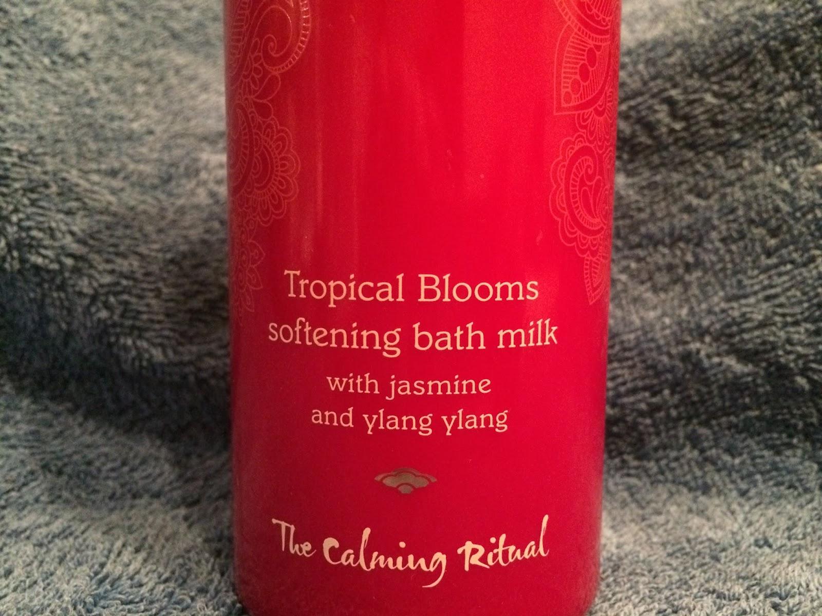 Mandara Spa - Tropical Blooms Softening Bath Milk