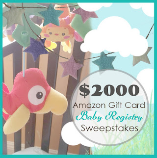 $2000 Amazon Baby Registry Sweeps US Only Ends 8/31