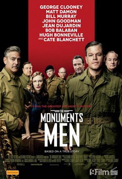The Monuments Men 2014 poster