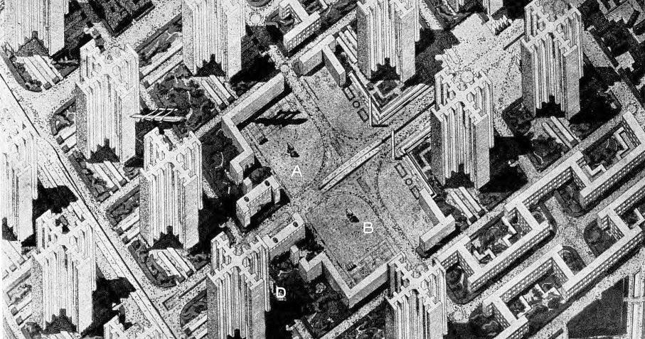 Paris projet ou vandalisme le paris de le corbusier for Porte vue 60 feuilles