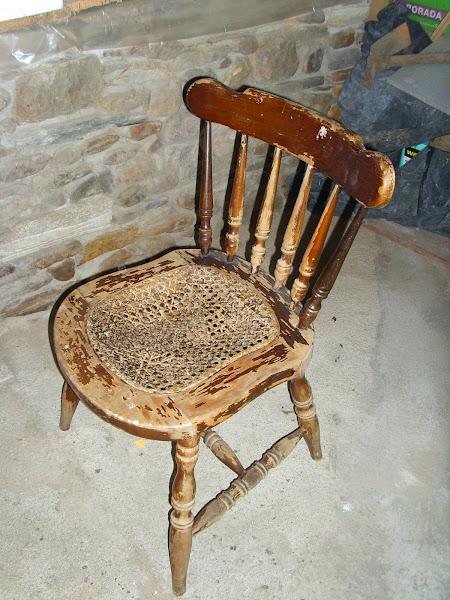 Silla rota hacer bricolaje es - Reparacion de sillas de rejilla ...