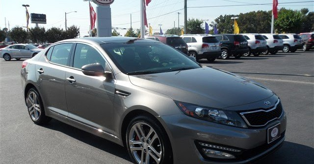 The Green Light Review 2013 Kia Optima Sx Limited