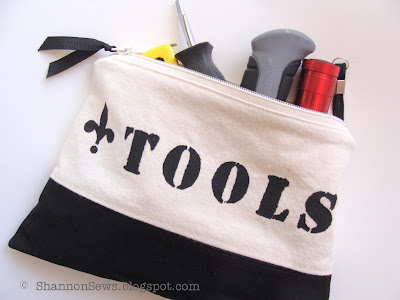 A tool pouch with all the necessities are a must have for any college student