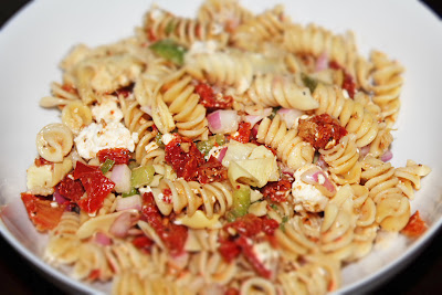 Mediterranean Pasta Salad - The Not So Desperate Chef Wife