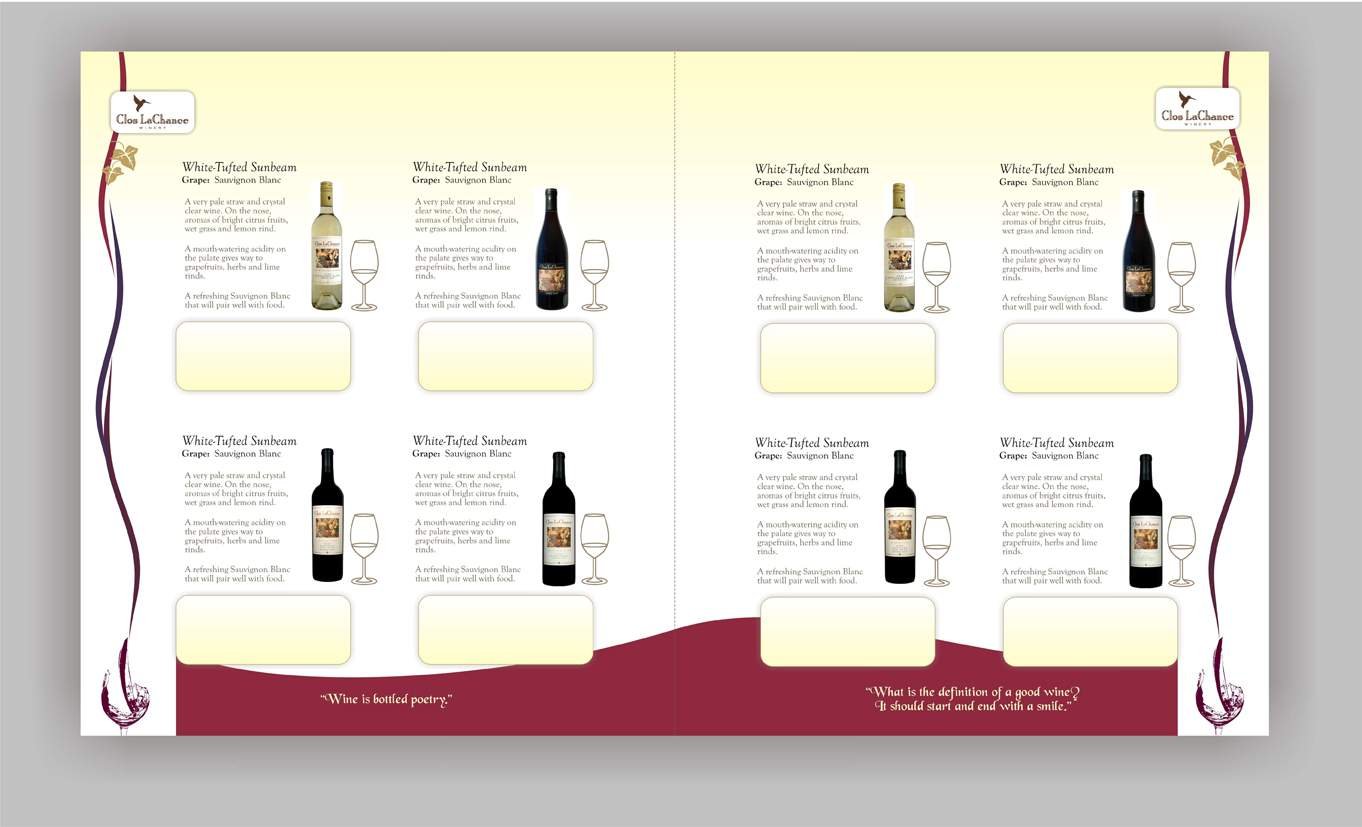 zinia jc   brochure design for brix