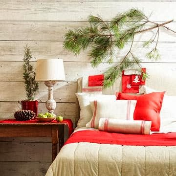 Inside the brick house in a holiday hurry try these for Quick and easy room decor ideas
