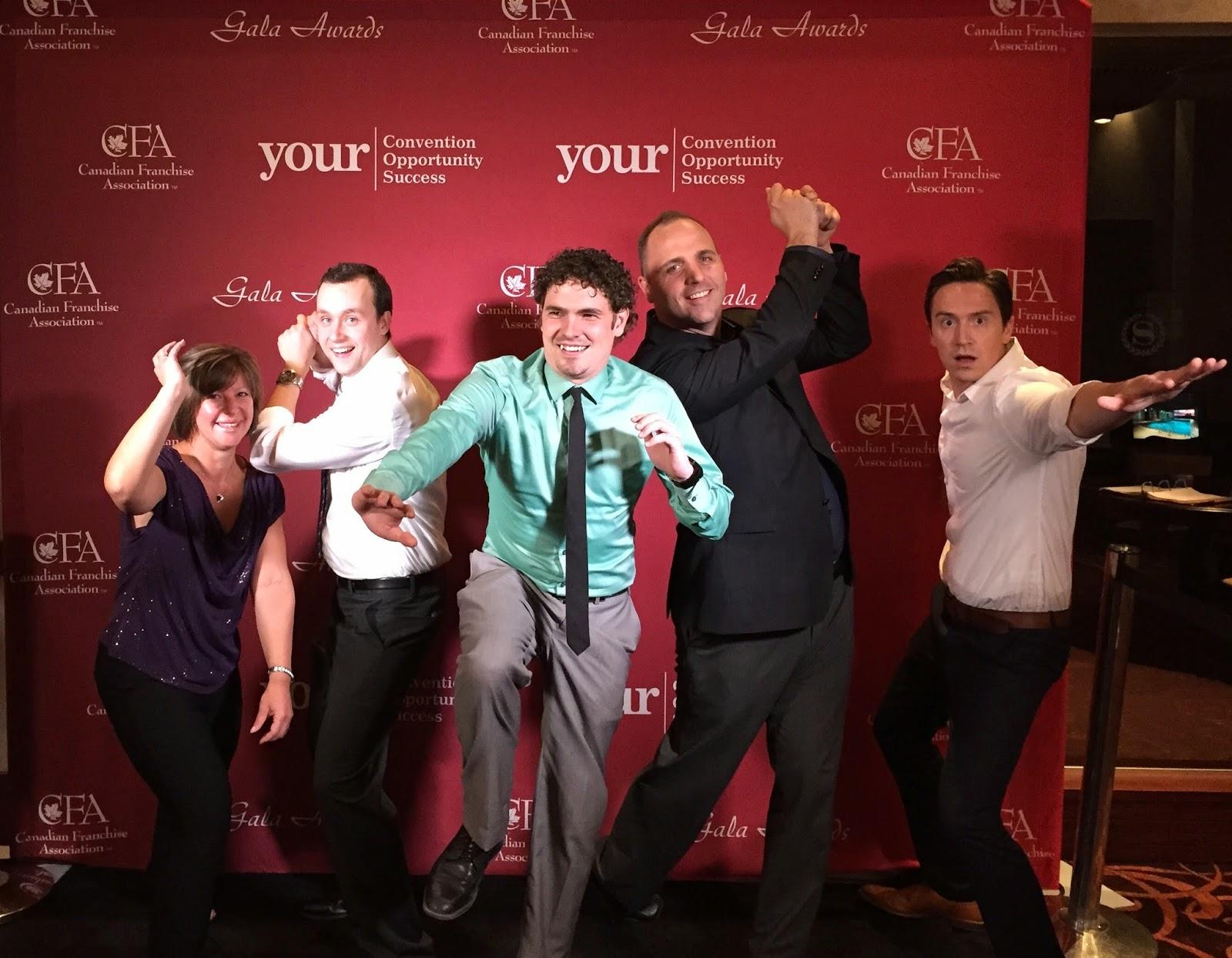 The JUST JUNK® Team: Andrea Bone, Ben Ellens, Shane Wright, Mike Thorne, and Steve Adams