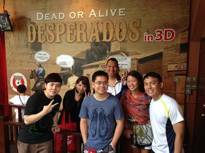 Sentosa 4D Magix Desperados in 3D