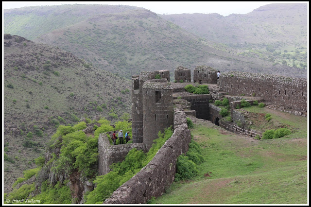 Entrance of Malhargad Fort