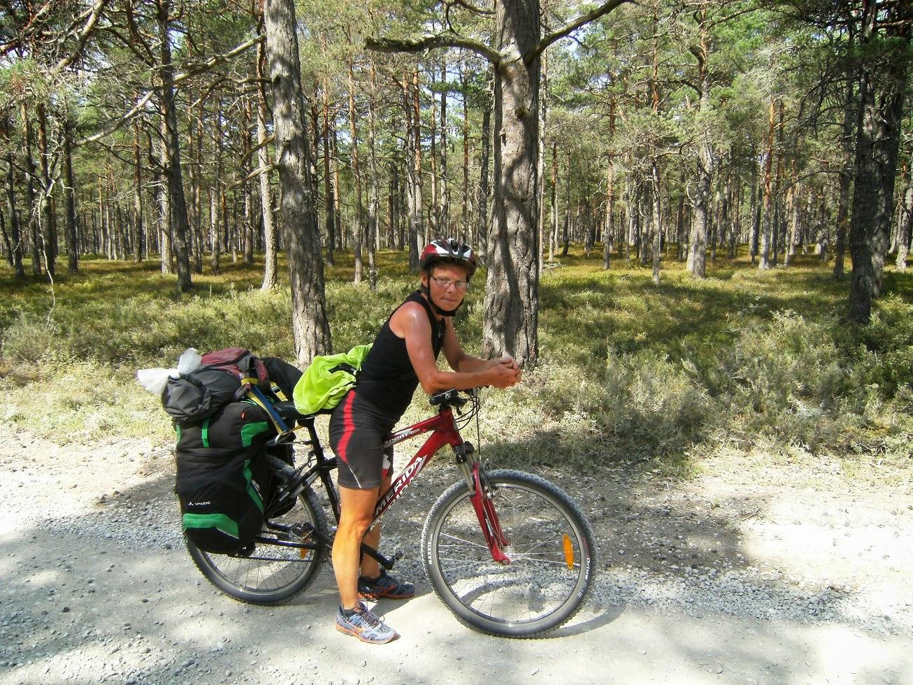 Cykeltur 2014; Polen, Litauen, Lettland & Estland.