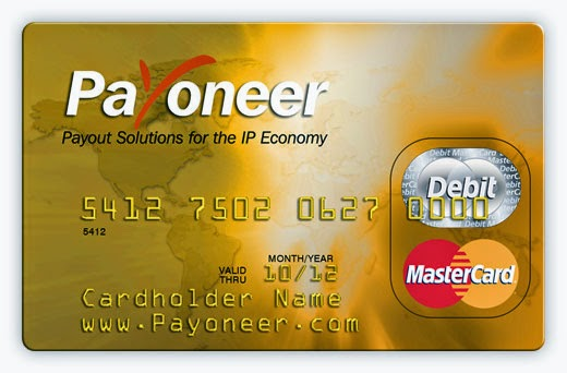 how to get free payoneer prepaid credit card with 25 bonus - Free Prepaid Credit Card