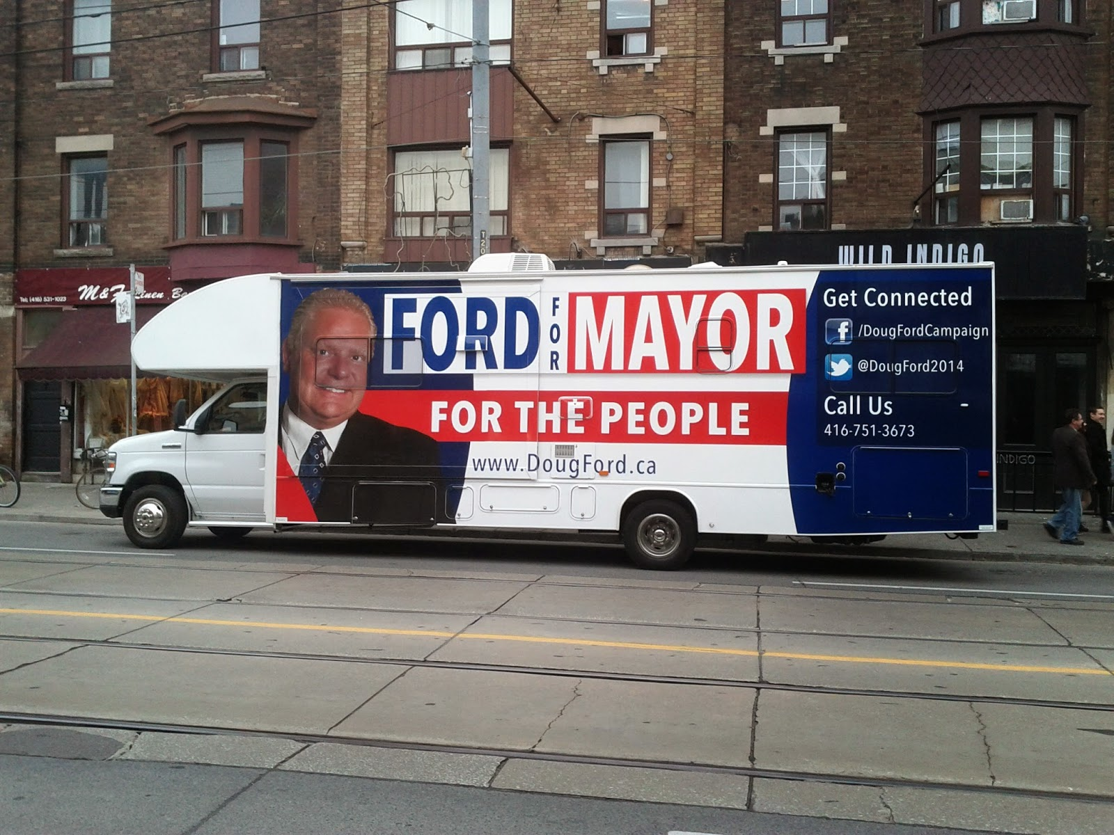 Doug Ford Nation Truck