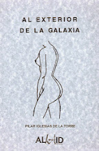 """""""AL EXTERIOR DE LA GALAXIA"""" libro de poesía de Pilar Iglesias"""
