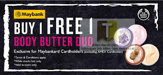 THE BODY SHOP Body Butter Duo Special 2012
