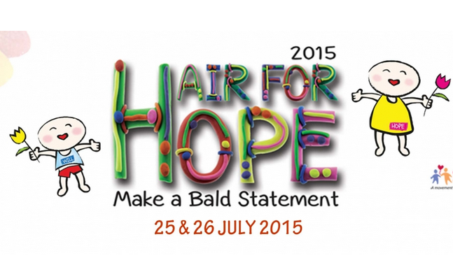 Hair For Hope 2015