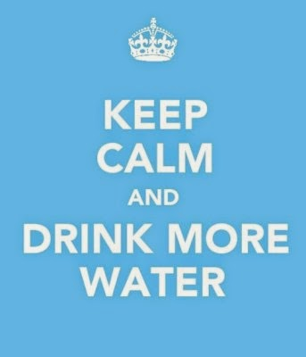 Keep Calm Drink More Water, www.HealthyFitFocused.com