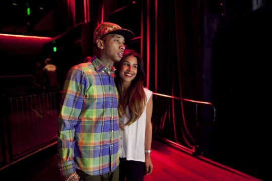 Tyga holds meet greet session in los angeles pictures beaver on april 1st tyga held a meet and greet session in los angeles california before his careless world show at club nokia m4hsunfo