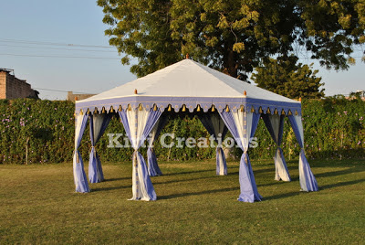 Exotic Wedding Tent