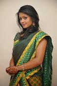 glamorous Anu Sri saree photos-thumbnail-13