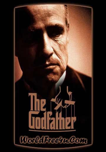 Poster Of The Godfather (1972) Full Movie Hindi Dubbed Free Download Watch Online At worldfree4u.com