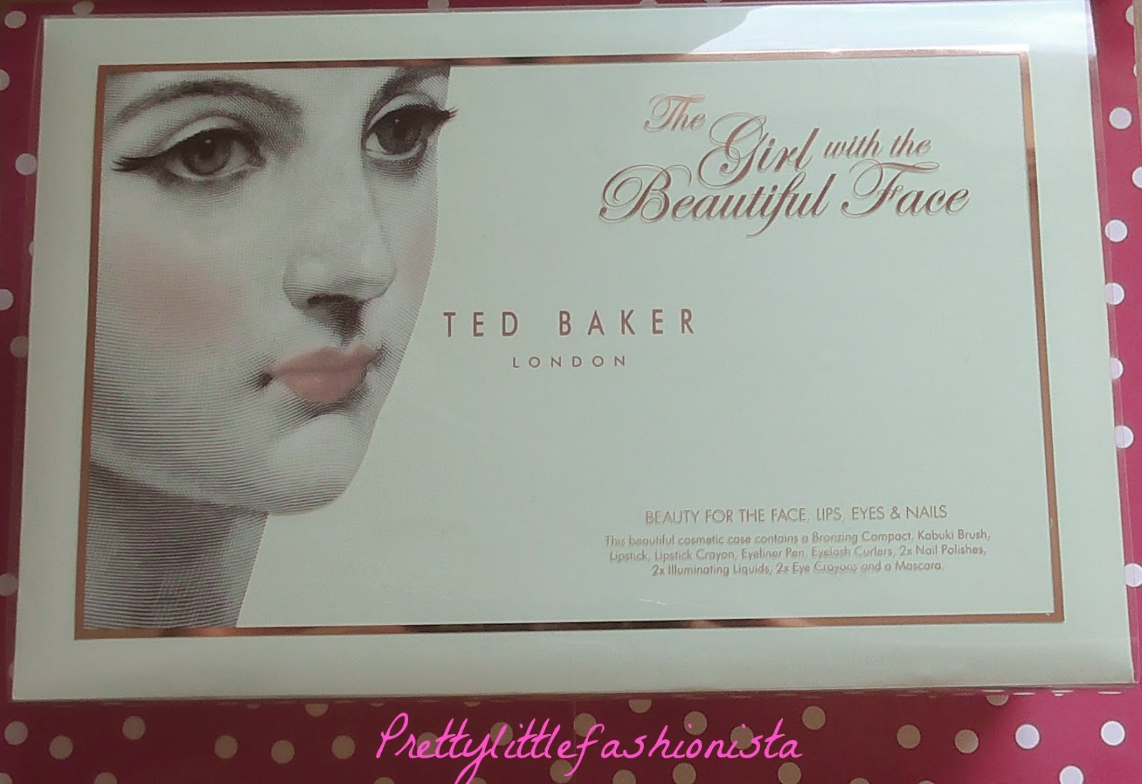 Ted Baker Gift Set- The Girl With The Beautiful Face