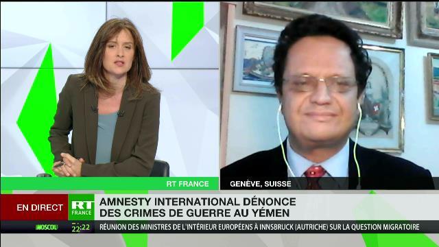 Riadh Sidaoui à RT France: Les crimes de guerre saoudiens au Yémen