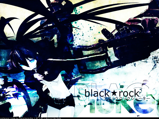 Black ★ Rock Shooter [8/8 + Ova][90 Mb][Anime][Jap]