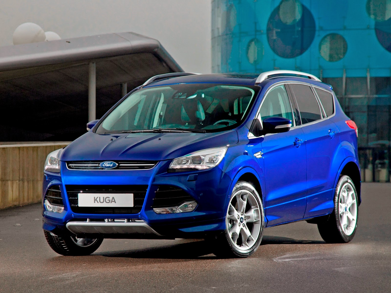 Ford kuga strikingly stylish and bold