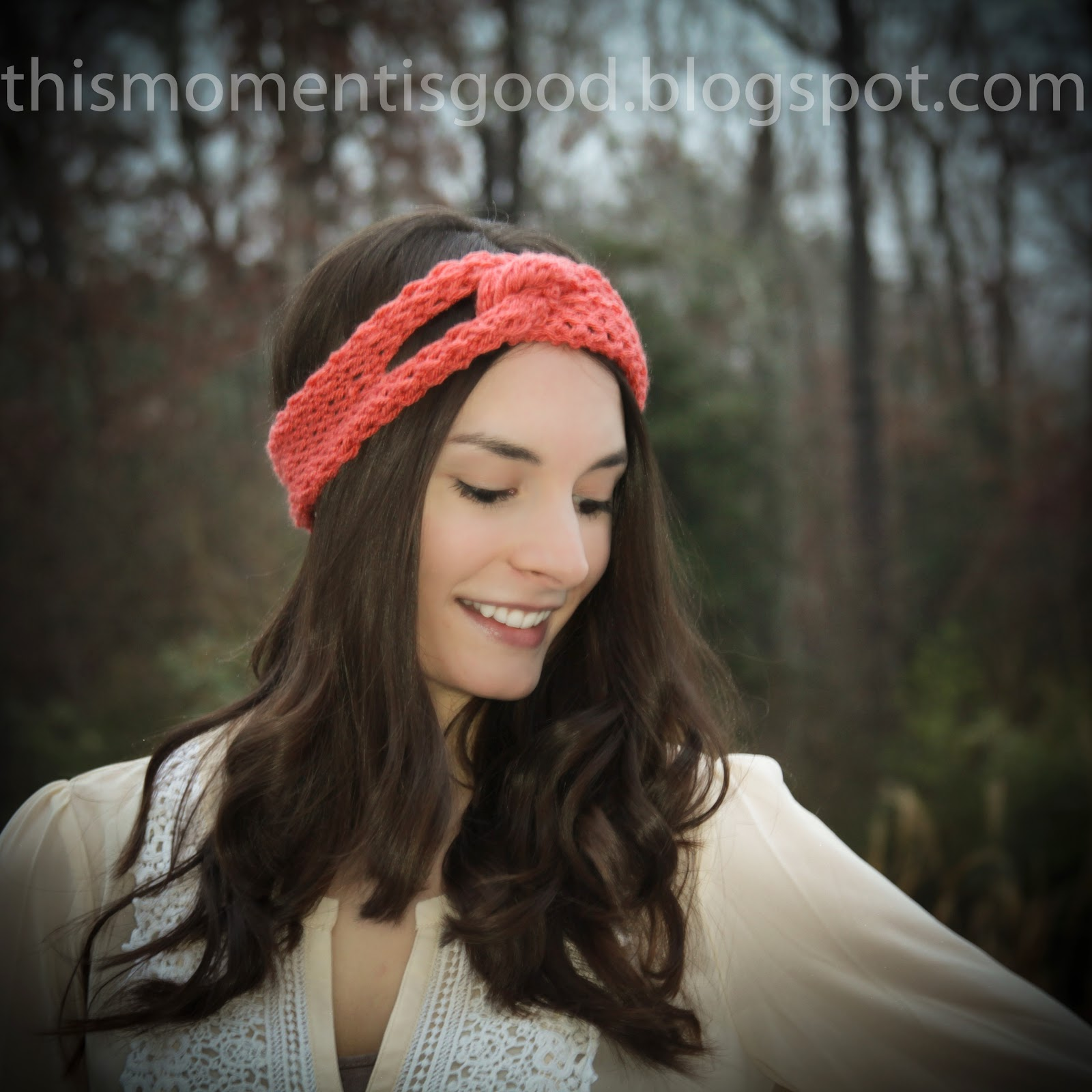 Free Knitting Pattern Twisted Headband : Loom Knitting by This Moment is Good!: LOOM KNIT TWISTED ...