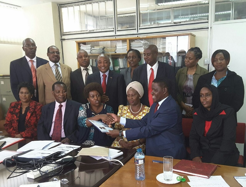 East African Legislative Assembly Kenyan Members  meets the Kenyan EAC MSE  leaders and MSEA