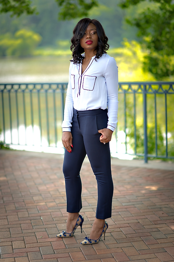 Work style in JCrew ankle pants