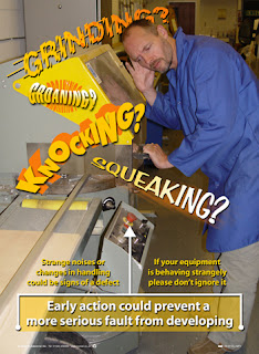 Defective equipment posters