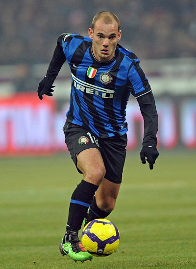 Wesley Sneijder Manchester United Transfer Inter Milan