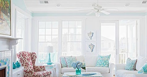 Coastal Living Room Color Ideas from Better Homes and ...