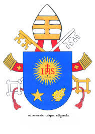 Papal coat of arms of Papa Francesco