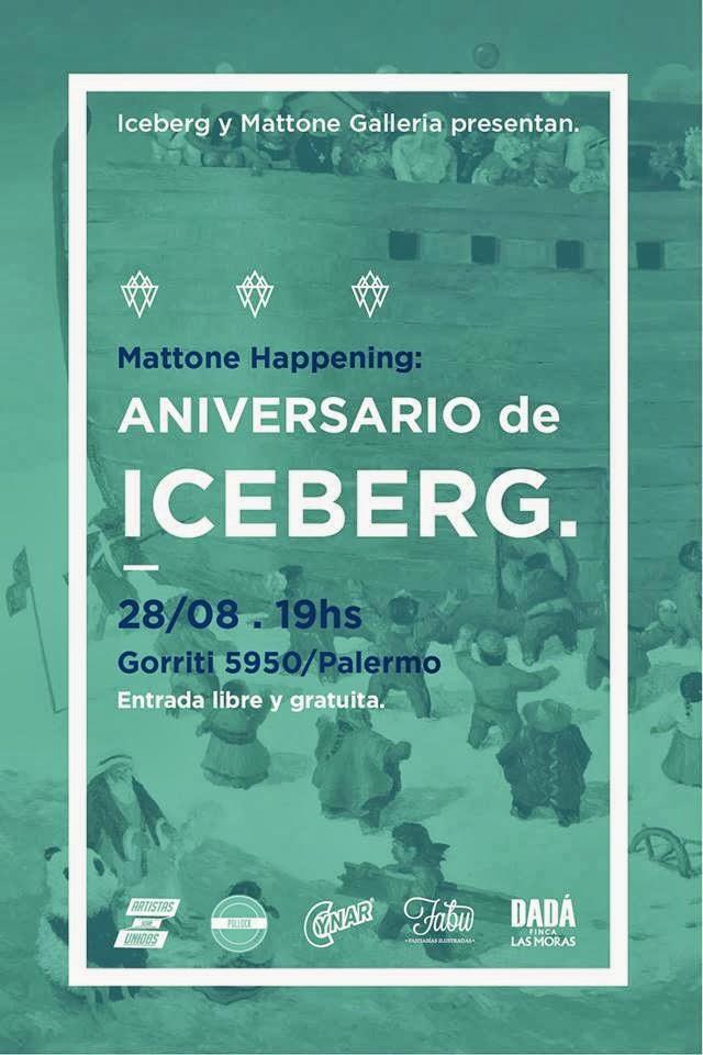 Catálogo Iceberg en Galería Pollock