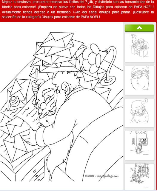 NAVIDAD Dibujos Para Colorear En Linea Y Para Imprimir  Yodibujo Es