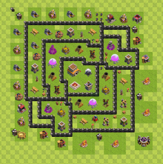 Base Hybrid Layout TH8 By. Noah Sloan