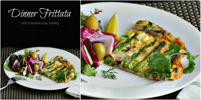 Homemade Dinner Frittata but could be breakfast, lunch or brunch