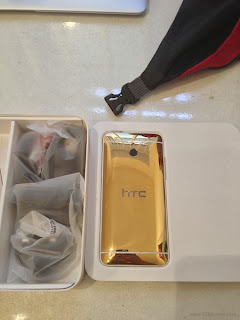 Gold Plated HTC One Mini