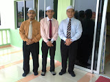 Dari kiri Ust Luqman, Ust Shauqi dan Ust Azizul