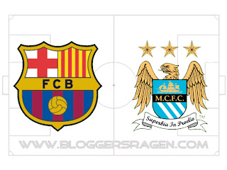 Prediksi Pertandingan Barcelona vs Manchester City