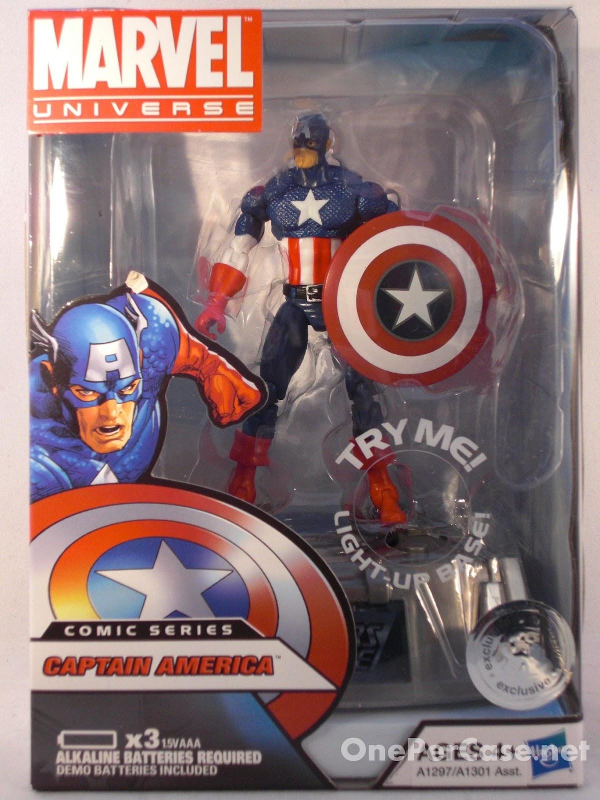 One Per Case: Marvel Universe Avengers Light-Up Base Wave 2 - Captain America (Rogers)